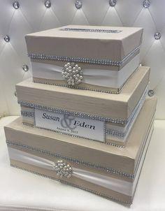 Image Result For Box To Put Gif Money Envelopes Wedding Gift Card Box Money Box Wedding Personalized Wedding Card Box