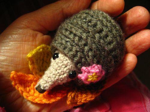 Attic24 Crochet Hedgehog Crochet Woodland Crotchet Animals
