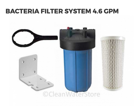 Bacteria Filter System 4 6 Gpm Water Treatment System Bacteria
