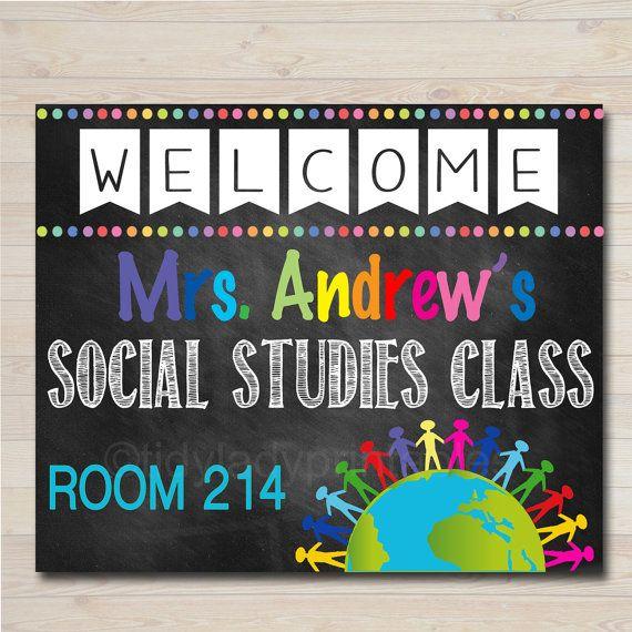 Social Studies Teacher Classroom Door Sign History Sociology Etsy Classroom Door Signs Social Studies Teacher Teacher Door Signs