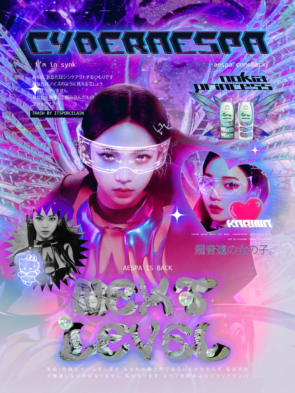 kpop edit, aespa y webcore imagen en We Heart It