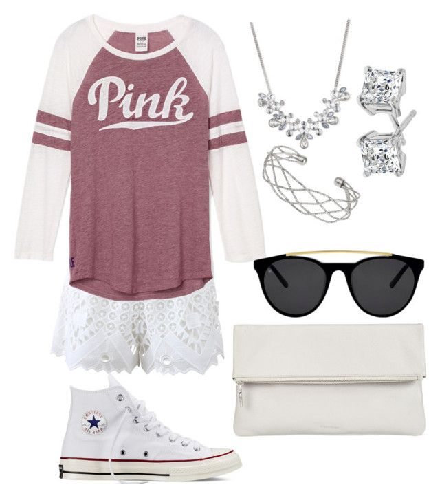 """""""Perfect for a girls day•super comfy❤️"""" by skybruder10 on Polyvore featuring Alexis, Converse, Whistles, Smoke & Mirrors, Givenchy and Wallis"""