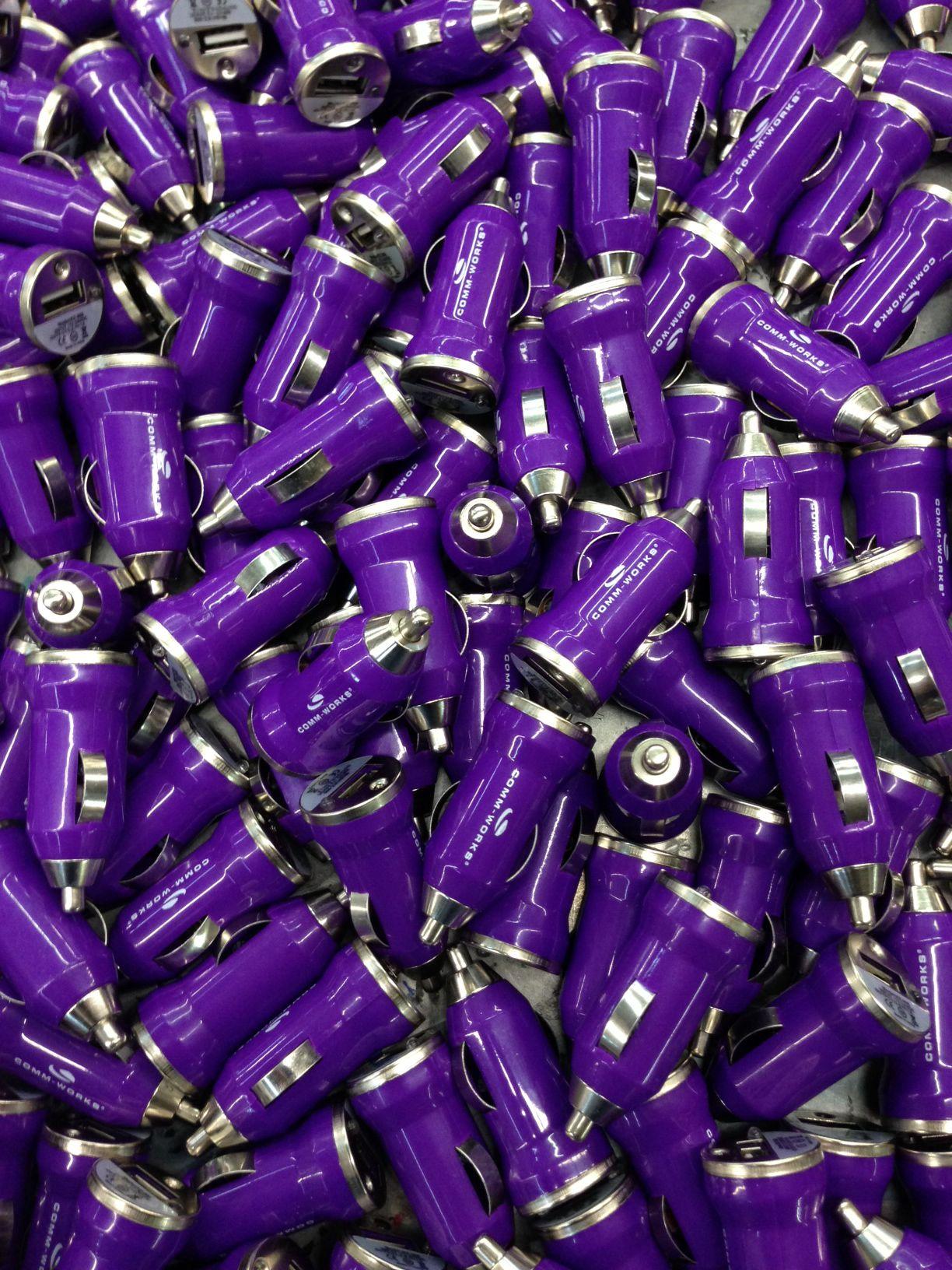 Got purple? We do.... and orange, black, white, red, lime
