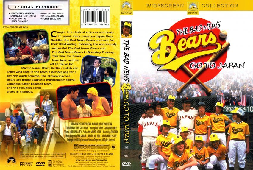 The Bad News Bears Go To Japan Also Known As The Bad News Bears 3 Is A 1978 Film Release By Paramount Pictures The Bad News Bears Baseball Movies Bad News
