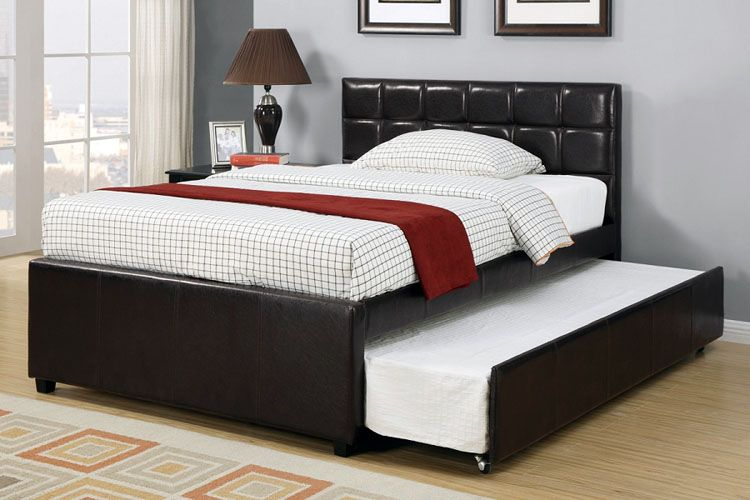 Trundle Bed With Pop Up Frame Queen Trundle Bed Twin Trundle