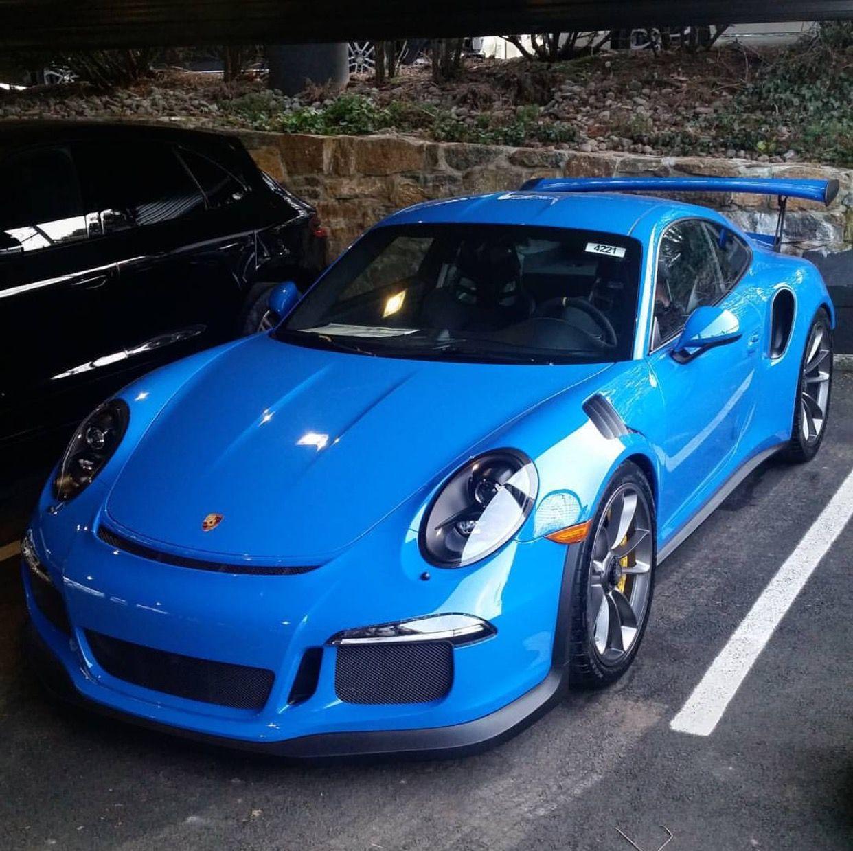 Porsche 911 Turbo Gt3: Porsche 991 GT3 RS Painted In Paint To Sample Voodoo Blue