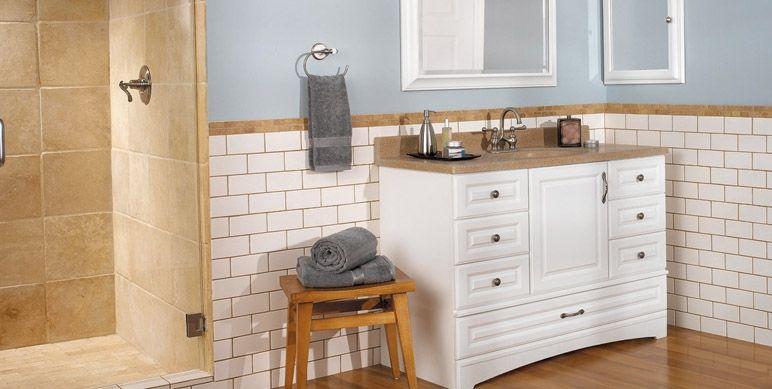 38+ White bathroom cabinets with oak trim diy