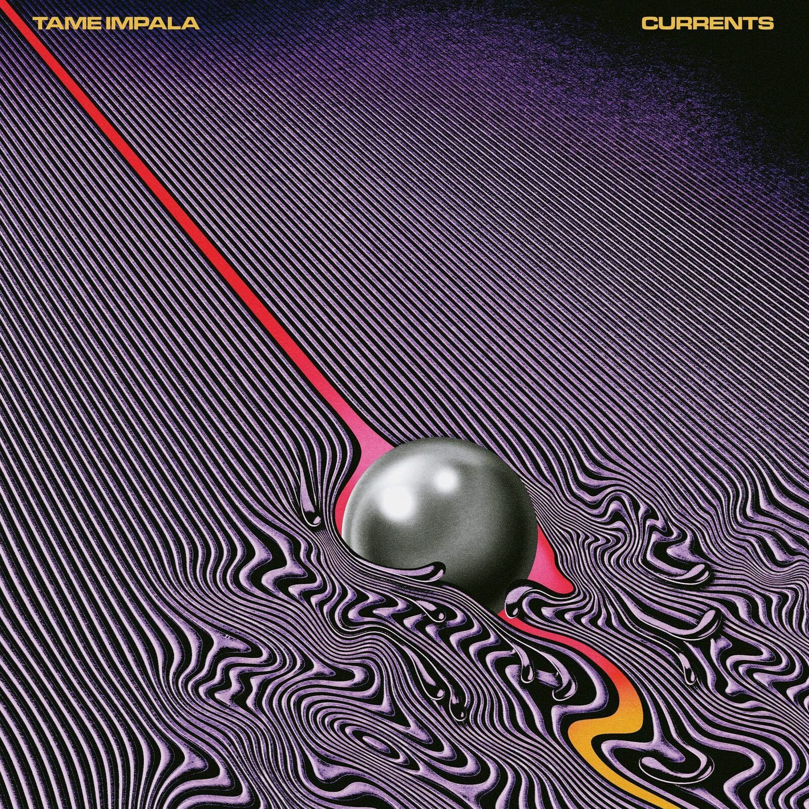 Tame Impala Psychedelic Rock Currents Album Art Cover Poster 20×20 24×24 32×32