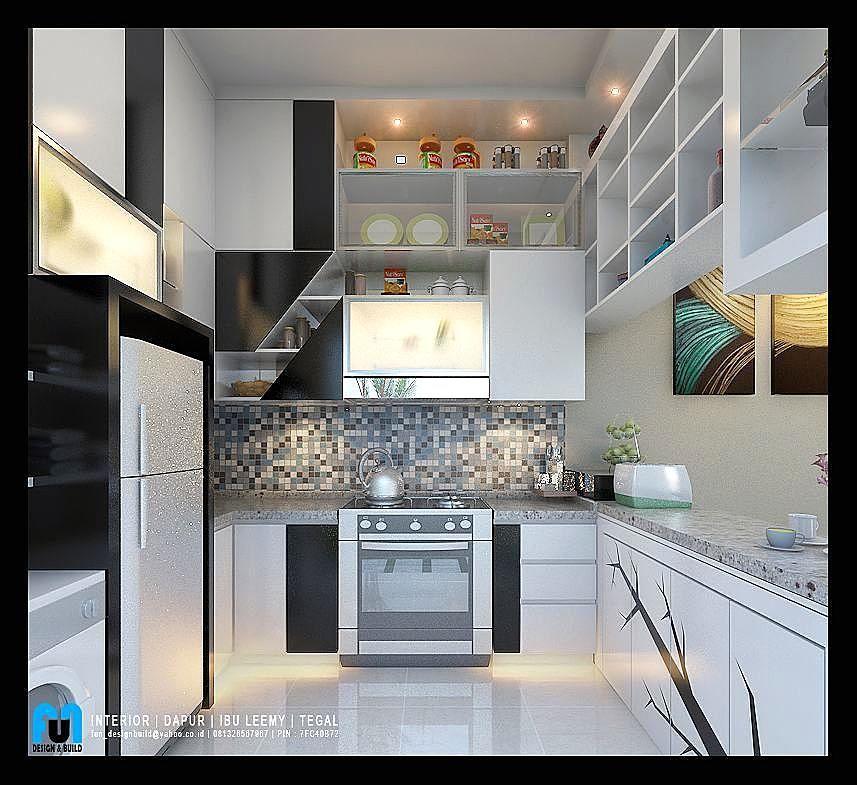Gambar Desain Dapur Minimalis Modern 2x2 Keramik Dinding Terbaru Gambar Kitchen Di Rebanas Rebanas