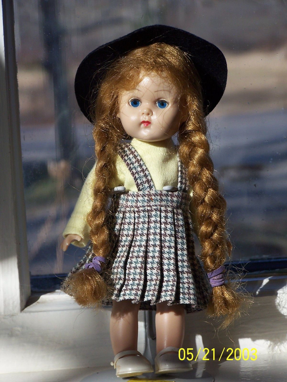 Vintage 1950'S Vogue Ginny Doll | eBay ~ Reminds me of my 1st Ginny I used to have.