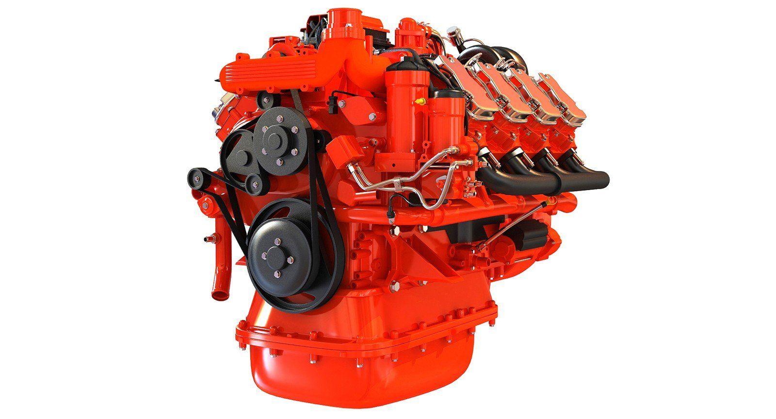 Swedish V8 Engine Industrial Diesel Engines | Scania sport | Diesel
