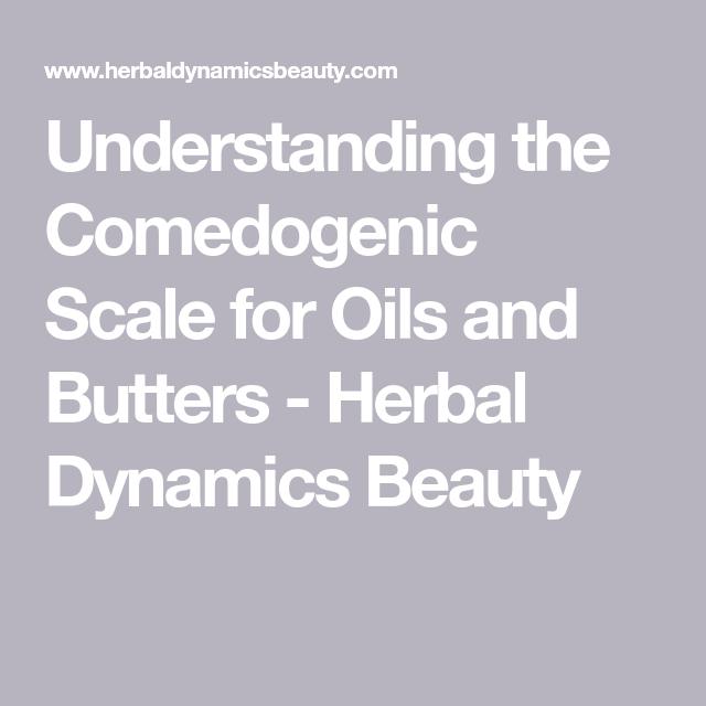 Comedogenic Scale