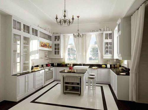 U Förmige Küche Designs Für Kleine Küchen | Küche | Pinterest ...