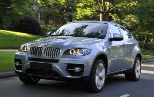 BMW X6 Hybrid Review And Picture - Driving