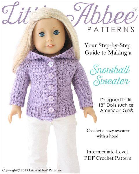 Snowball Sweater Crochet Pattern Snowball Crochet And Patterns