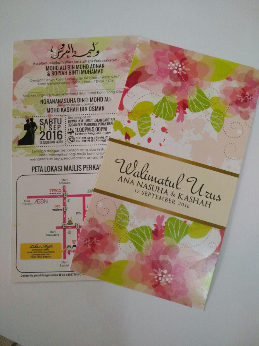 Everypost Kad Kahwin Kad Kahwin Design Wedding Cards