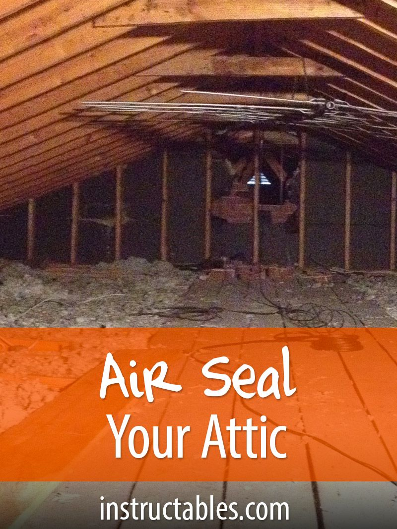 Air Seal Your Attic for Energy Savings Save energy