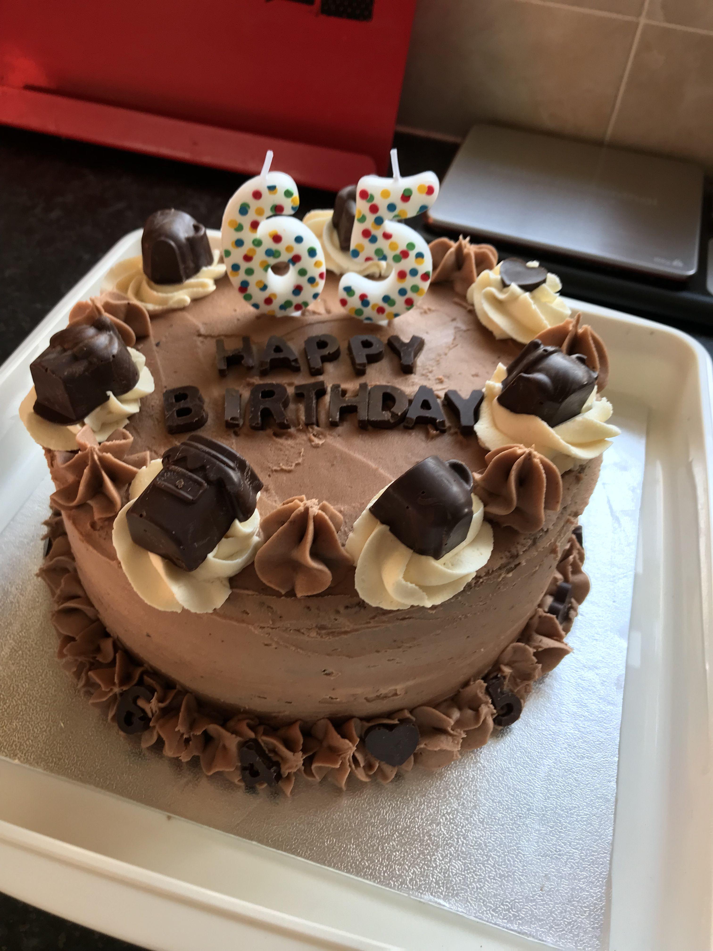 Chocolate Birthday Cake 7th Birthday Cakes New Cake Design