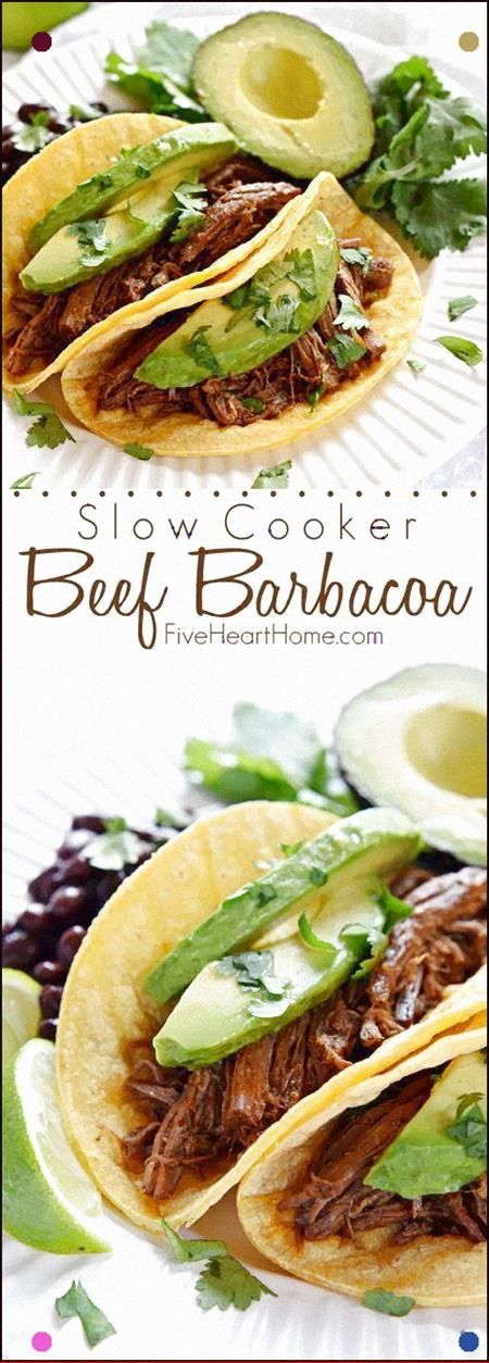 Photo of Slow Cooker Beef Barbacoa Flavored With Smoked Chipotles In …