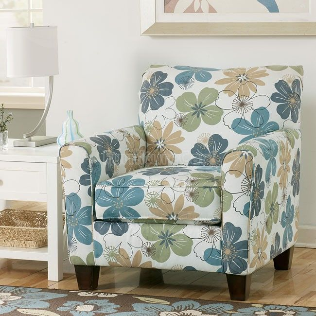Kylee Spa Accent Chair Printed Accent Chairs Furniture