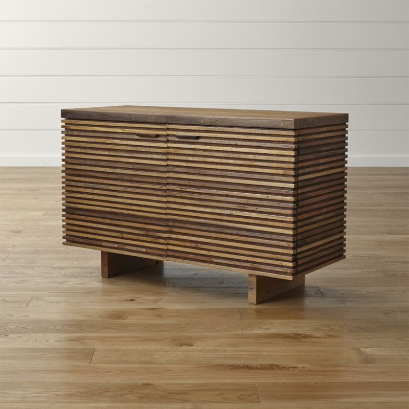Paloma II Reclaimed Wood Small Sideboard Crate and Barrel