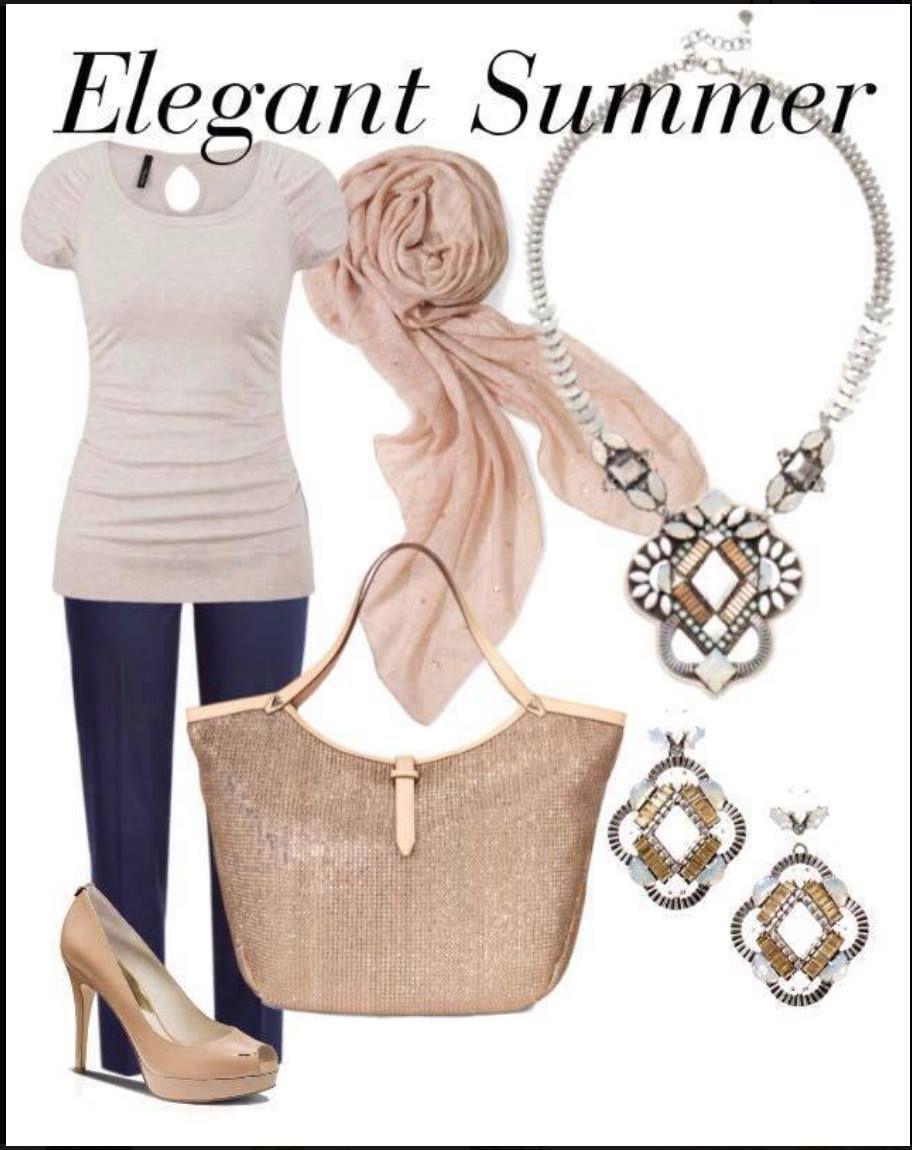 Classic Elegance, Stella Style Riviera Tote, Kaia Pendant Necklace ...
