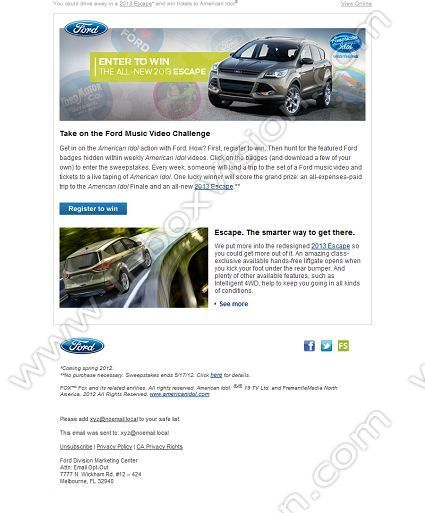 Company Ford Motor Company Ho Subject Play To Win In The Ford