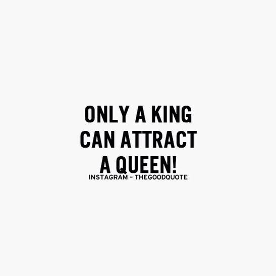 A king for a queen !