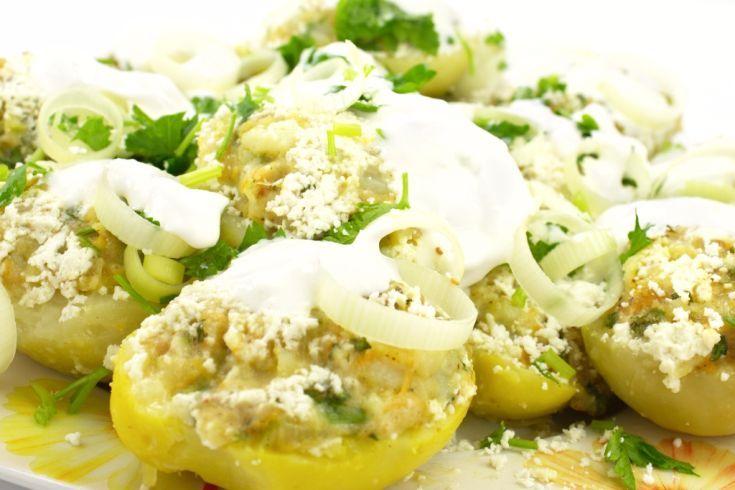 Plnené zemiaky