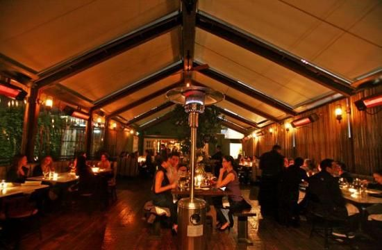 Eveleigh, West Hollywood, supposed to have good food and a great patio!