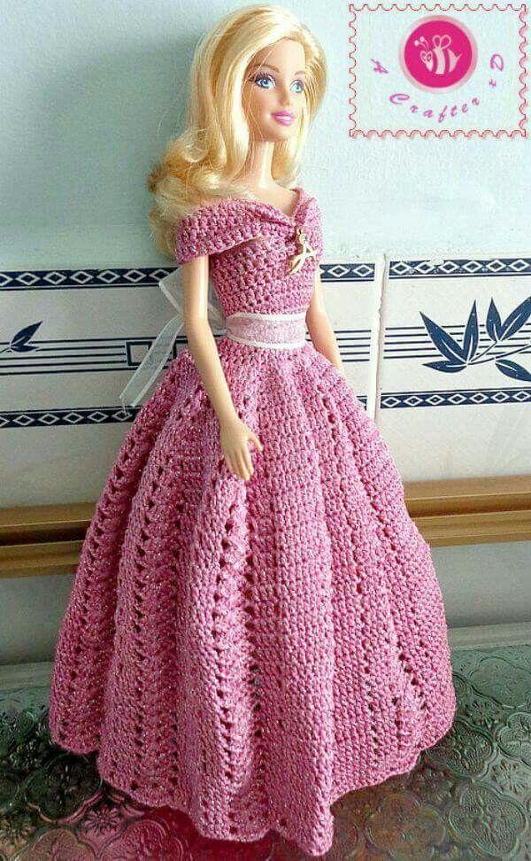 Pin de Melissa Harper en Create: Crochet   Pinterest   Barbie ...