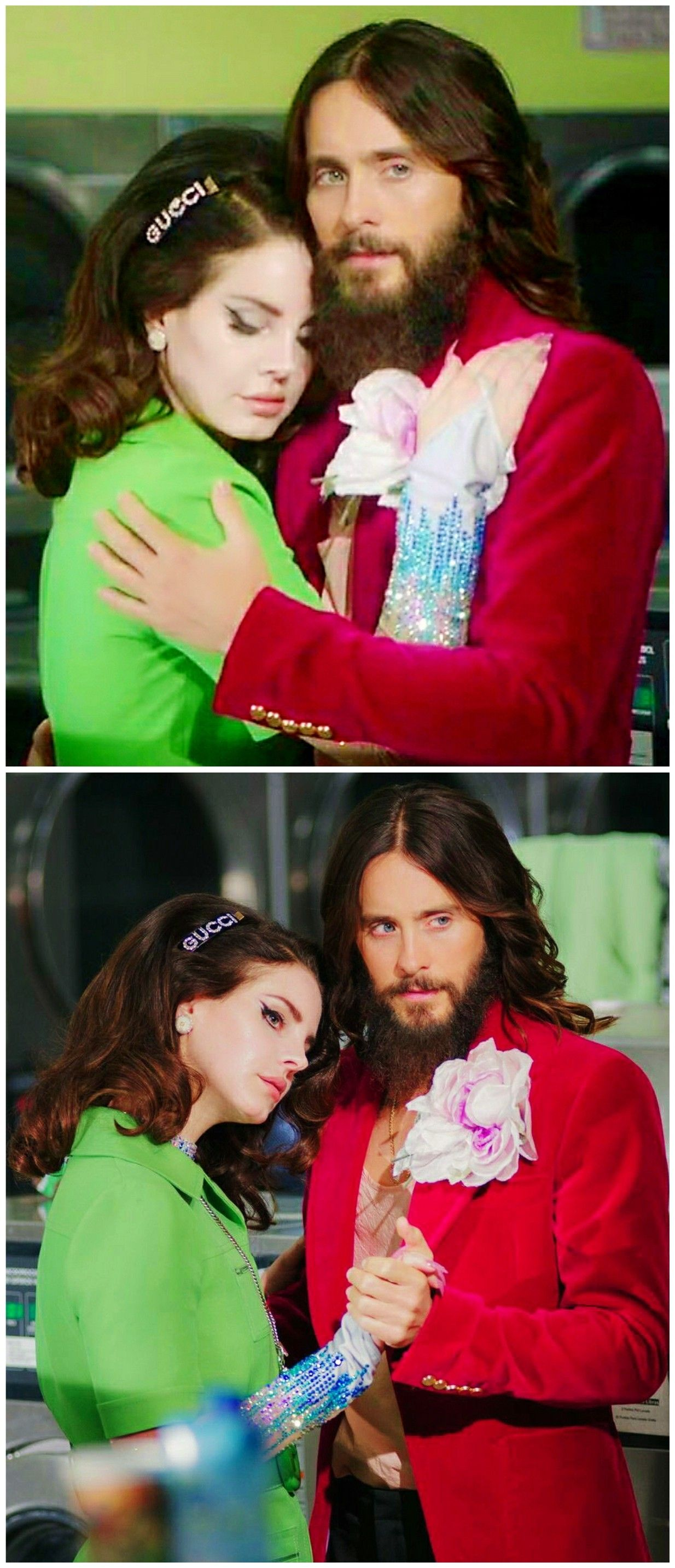 Lana Del Rey And Jared Leto In The Advertising Campaign For The New Gucci Guilty Fragrance Ldr Brooklyn Baby Lana Del Rey Jared Leto Hair Lana Del Rey