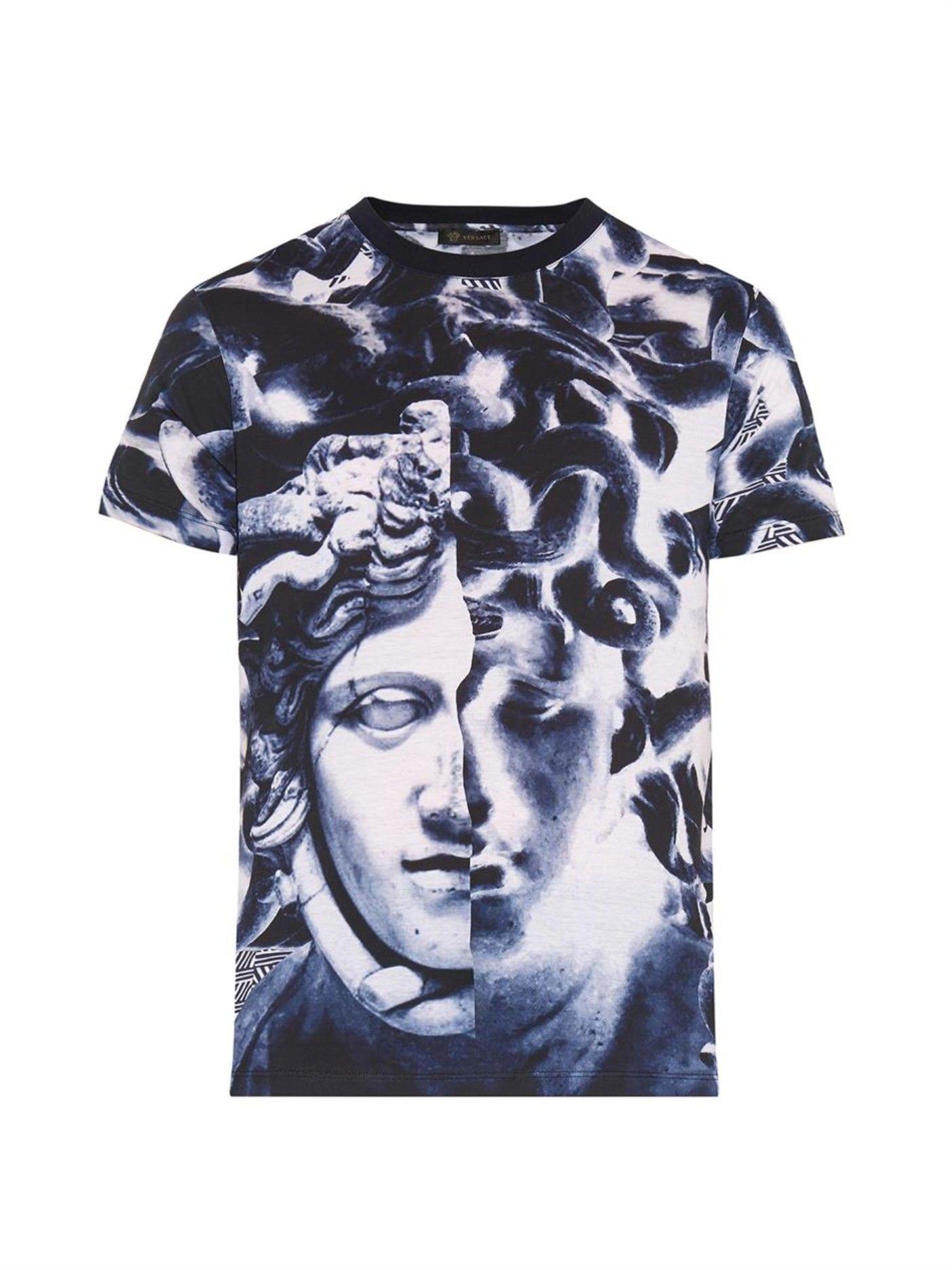 9b77805c6 Bernini Medusa-print T-shirt | Versace | MATCHESFASHION.COM US ...