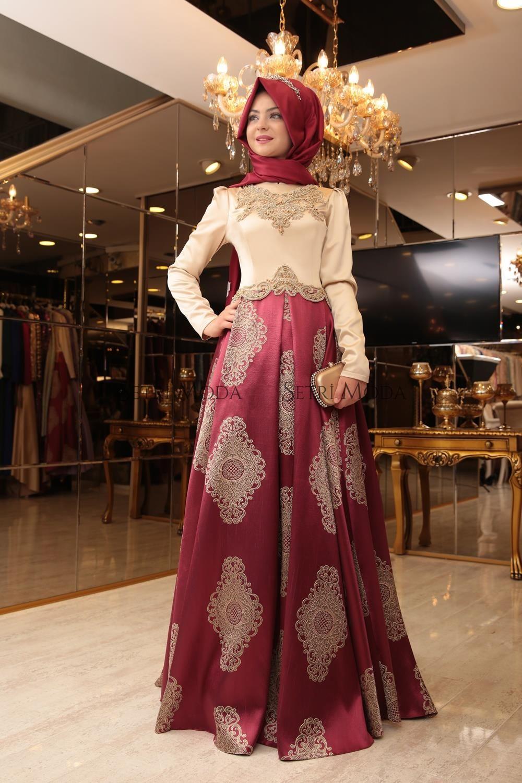 0d8682f468544 Pınar Şems Tesettür Giyim - Pınar Şems Harem Abiye - 685,00 TL - Setri Moda  Tesettür Giyim