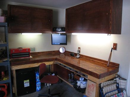 Garage Cabinets And Work Bench