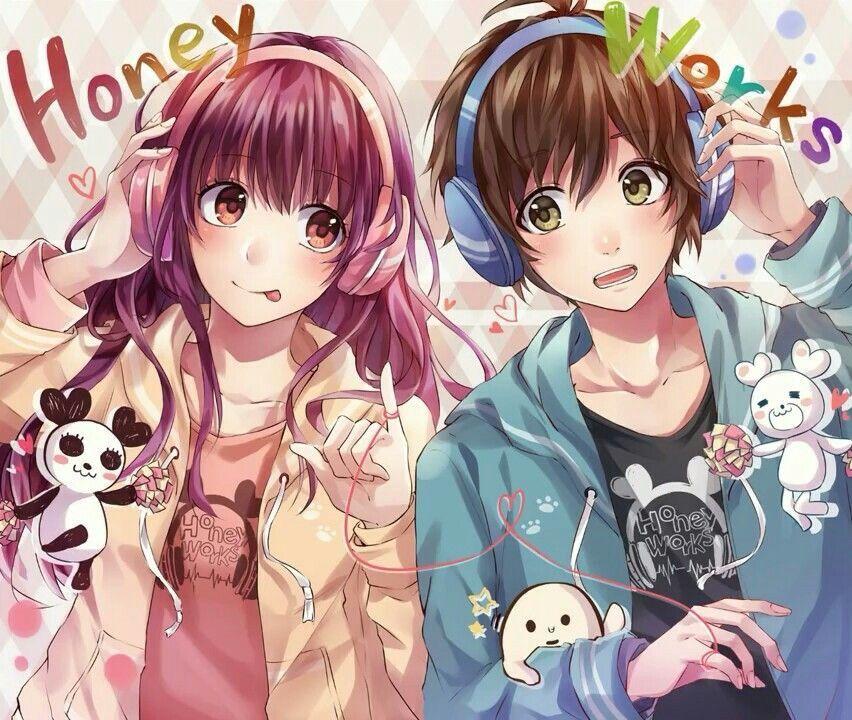 Pin on Cute Anime Couple