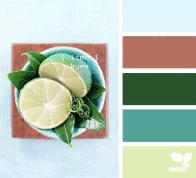Lime hues