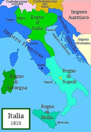 Cartina Italia 1810.Italia 1810 Mappa Dell Italia Mappe Antiche Mappa