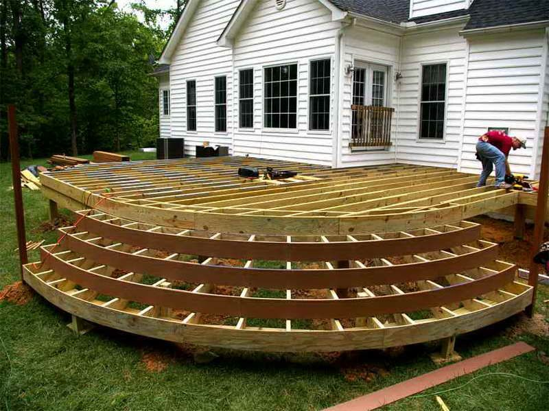 building a wood deck correctly can create the perfect transition between your home and your backyard here are five basic tips for building a wooden deck - Outdoor Deck Design Ideas