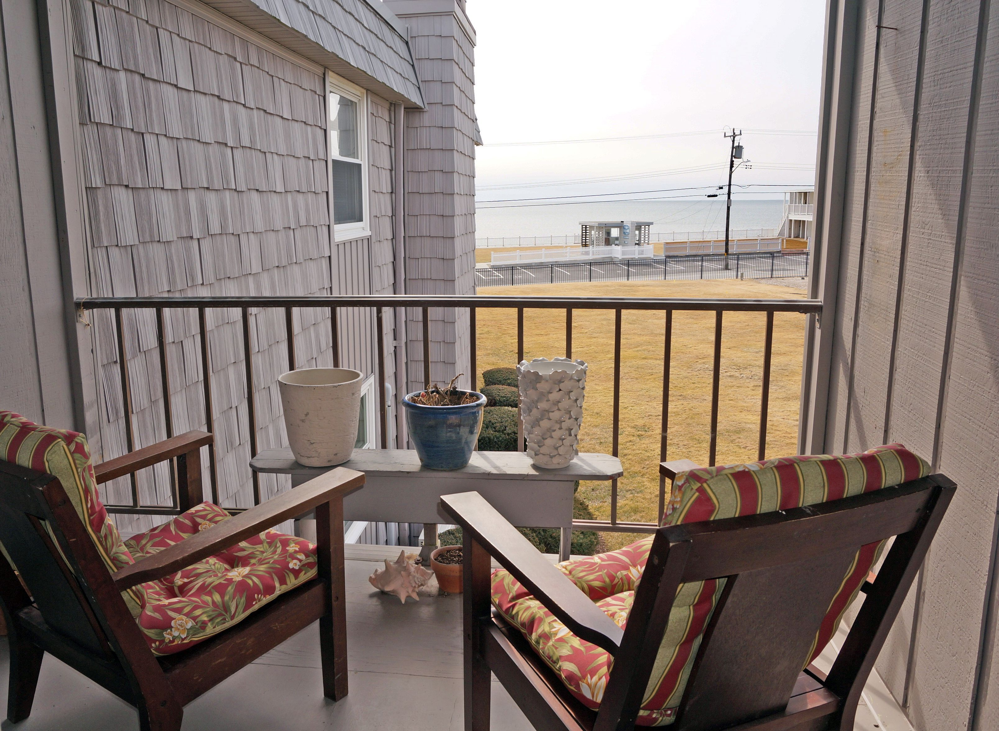 Just listed year round Dennis Port condo with ocean views