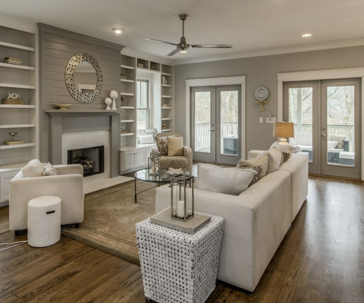 Pin by Laura Canter on Living rooms in 2020 | Beige living ...