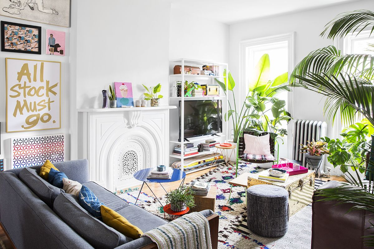 This Happy Home Will Make You Smile | Living rooms, Room and Hippie ...