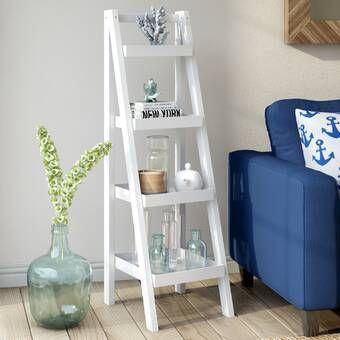 Kaitlyn Ladder Bookcase #pflanzenimschlafzimmer
