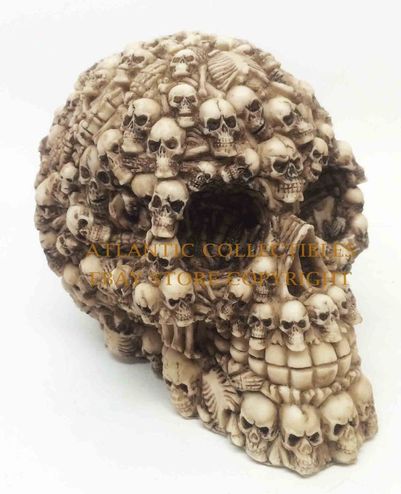 Halloween skull decorations - Details About Homo Sapien Skeleton Skull Ghost Lost Souls Halloween Decoration Figurine Statue