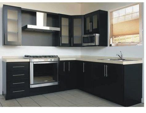 cocina integral moderna pequeña - Buscar con Google Decoracion de