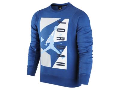 65610839e43 Air Jordan Block Fleece Crew Men's Sweatshirt   Jordan   Mens ...
