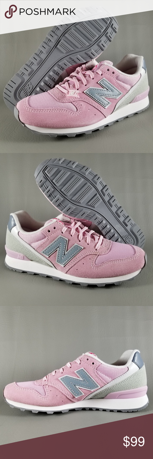 New Balance 996 Women's Athletic Shoes Pink 6.5 D New