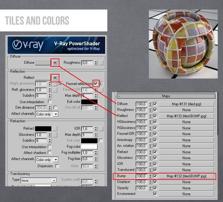 Vray Tiles 3ds Max 3ds Max 3ds Max Tutorials Vray Tutorials