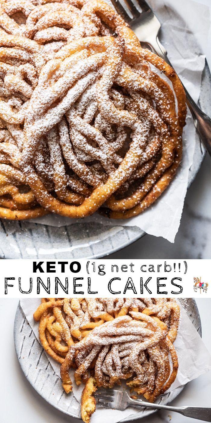 Homemade Gluten Free & Keto Funnel Cakes Homemade Gluten Free & Keto Funnel Cakes -