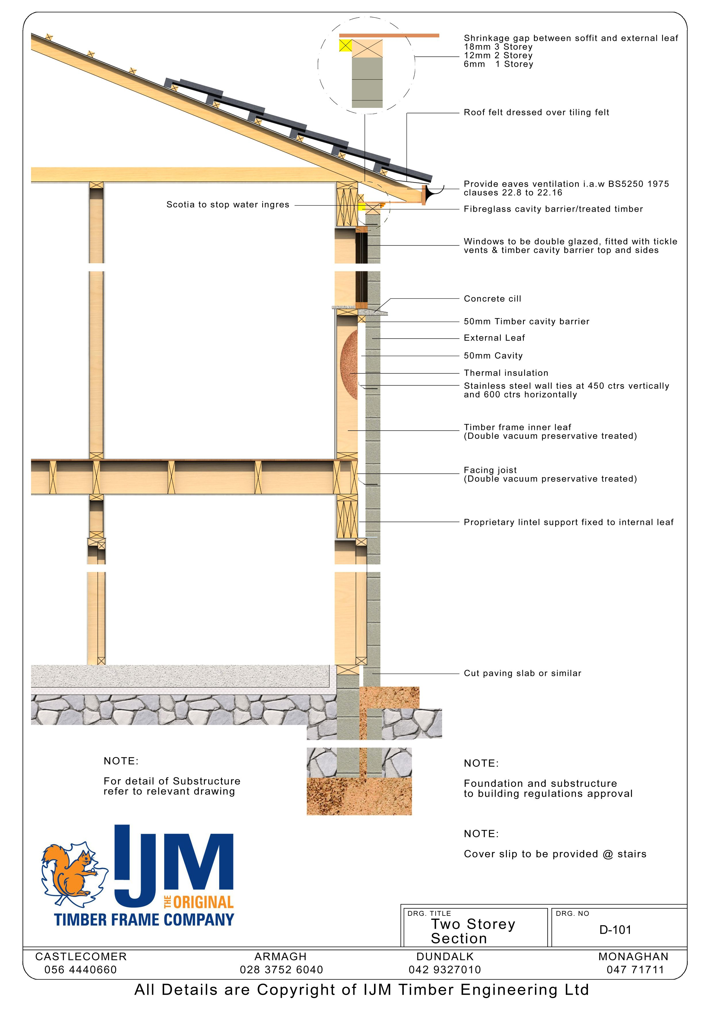 Ijm Timberframe Technical Details Book Of Details Chapter 3 En 2020 Detalles Constructivos Constructivo Arquitectura